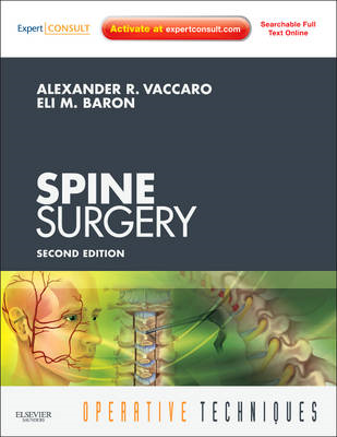 Operative Techniques: Spine Surgery (BOK)