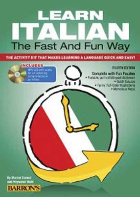 Learn Italian the Fast and Fun Way with MP3 CD (BOK)