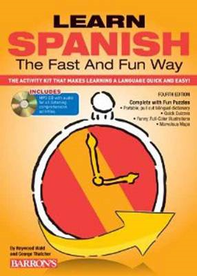Learn Spanish the Fast and Fun Way with MP3 CD (BOK)