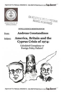 America, Britain and the Cyprus Crisis of 1974 (BOK)