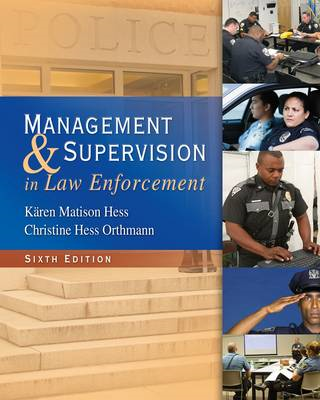 Management and Supervision in Law Enforcement (BOK)