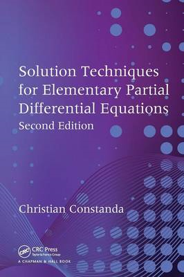Solution Techniques for Elementary Partial Differential Equations (BOK)