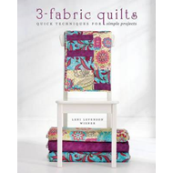 Simple 3-Fabric Quilts: Easy, Modern Projects Using Strip Piecing and Other Quick Techniques (BOK)
