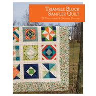 Triangle Block Sampler Quilt: 25 Traditional and Original Designs (BOK)