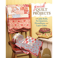 Quick Quilt Projects with Jelly Rolls, Fat Quarters, Honeybu (BOK)