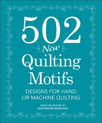 502 New Quilting Motifs (BOK)