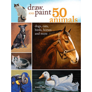 Draw and Paint 50 Animals (BOK)