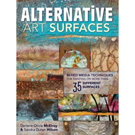 Produktbilde for Alternative Art Surfaces - Mixed-Media Techniques for Painting on More Than 35 Different Surfaces (BOK)
