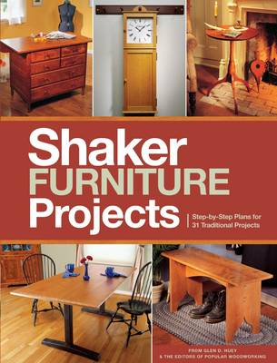 Popular Woodworking's Shaker Furniture Projects (BOK)