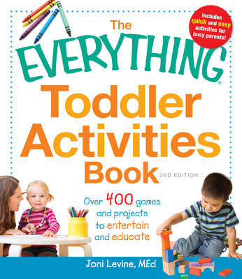 Everything Toddler Activities Book (BOK)
