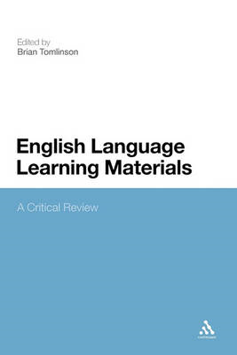 English Language Learning Materials: A Critical Review (BOK)