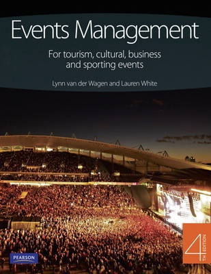 Event Management: for tourism, cultural business & sporting (BOK)