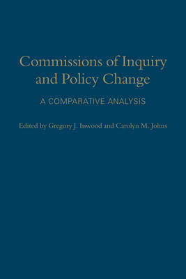 Commissions of Inquiry and Policy Change: A Comparative Analysis (BOK)