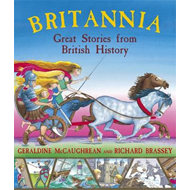 Produktbilde for Britannia: Great Stories from British History (BOK)