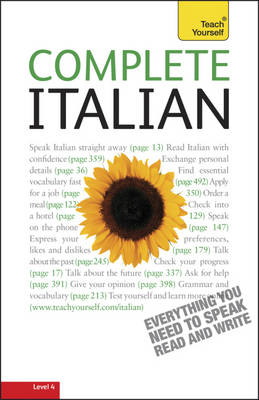 Complete Italian (Learn Italian with Teach Yourself) (BOK)