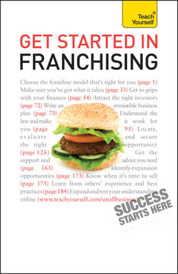 Get Started in Franchising: Teach Yourself (BOK)
