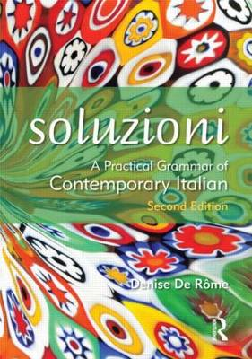 Soluzioni: A Practical Grammar of Contemporary Italian (BOK)