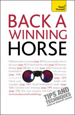 Back a Winning Horse: Teach Yourself (BOK)