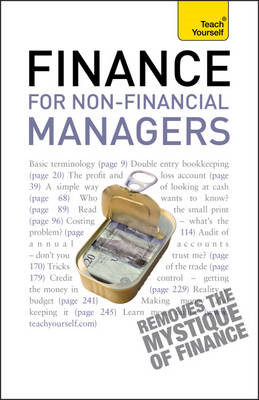 Finance for Non-financial Managers: Teach Yourself (BOK)