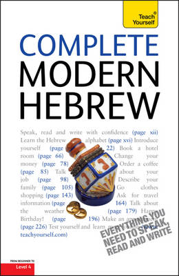 Teach Yourself Complete Modern Hebrew (BOK)