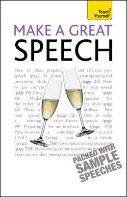 Make a Great Speech: Teach Yourself: 2010 (BOK)
