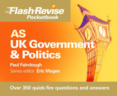AS UK Government and Politics Flash Revise Pocketbook (BOK)