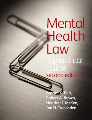 Mental Health Law: a Practical Guide (BOK)