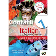 Contatti 1: Italian Beginner's Course: Audio and Support Book Pack (BOK)
