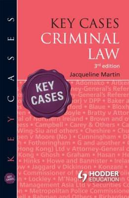 Key Cases: Criminal Law (BOK)
