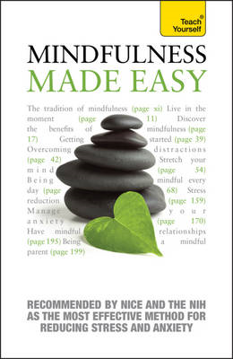 Mindfulness Made Easy: Teach Yourself (BOK)