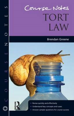 Course Notes: Tort Law (BOK)