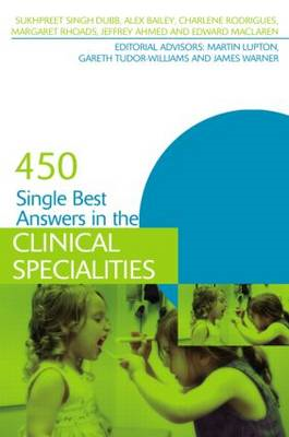 450 Single Best Answers in the Clinical Specialities (BOK)