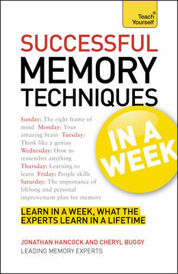 Successful Memory Techniques in a Week (BOK)