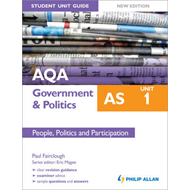 AQA AS Government & Politics Student Unit Guide New Edition: (BOK)