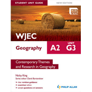 WJEC A2 Geography Student Unit Guide New Edition: Unit G3 Co (BOK)