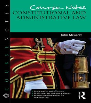 Course Notes: Constitutional and Administrative Law (BOK)