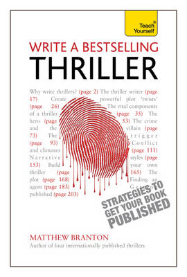 Write a Bestselling Thriller (BOK)