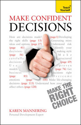 Make Confident Decisions: Teach Yourself (BOK)