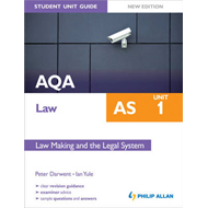 AQA Law AS Student Unit Guide: Unit 1 New Edition (BOK)