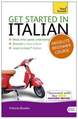 Get Started in Italian Absolute Beginner Course (BOK)