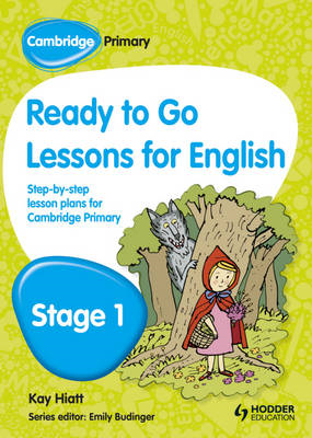 Cambridge Primary Ready to Go Lessons for English Stage 1 (BOK)