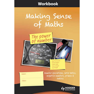 Making Sense of Maths: The Power of Number - Workbook: Number Operations, Ratio Tables, Negative Num (BOK)