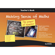 Making Sense of Maths: The Power of Number - Teacher Book: Number Operations, Ratio Tables, Negative (BOK)