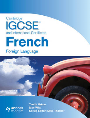 Cambridge IGSCE and International Certificate French Foreign (BOK)