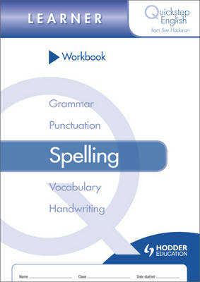 Quickstep English Workbook Spelling Learner Stage (BOK)
