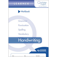 Quickstep English Workbook Handwriting Learner Stage (BOK)