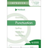 Quickstep English Workbook Punctuation Improver Stage (BOK)