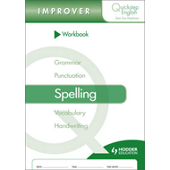 Quickstep English Workbook Spelling Improver Stage (BOK)