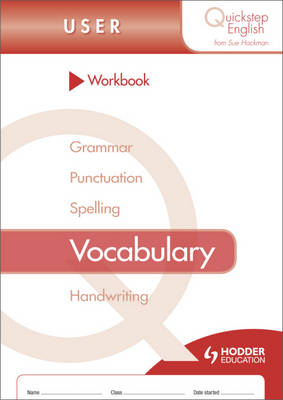 Quickstep English Workbook Vocabulary User Stage (BOK)