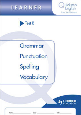 Quickstep English Learner Stage: Test B (BOK)